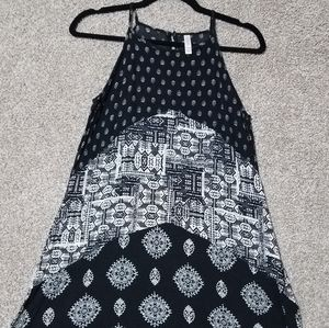 Black and white sundress size small